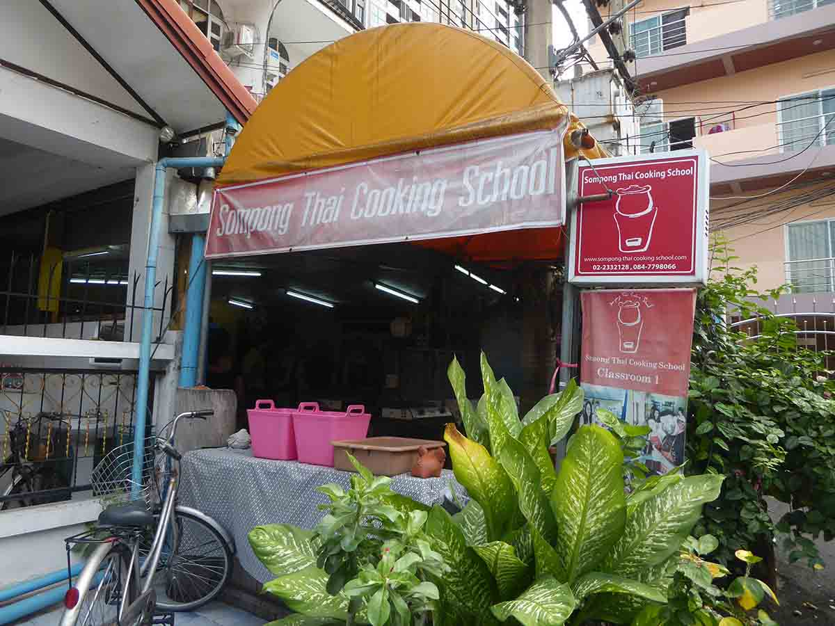 Thai Cooking Schools in Central Bangkok