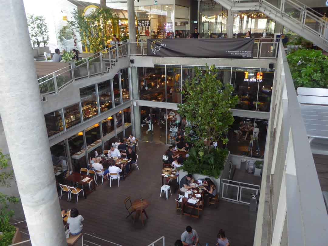 Food Malls in Bangkok The Commons
