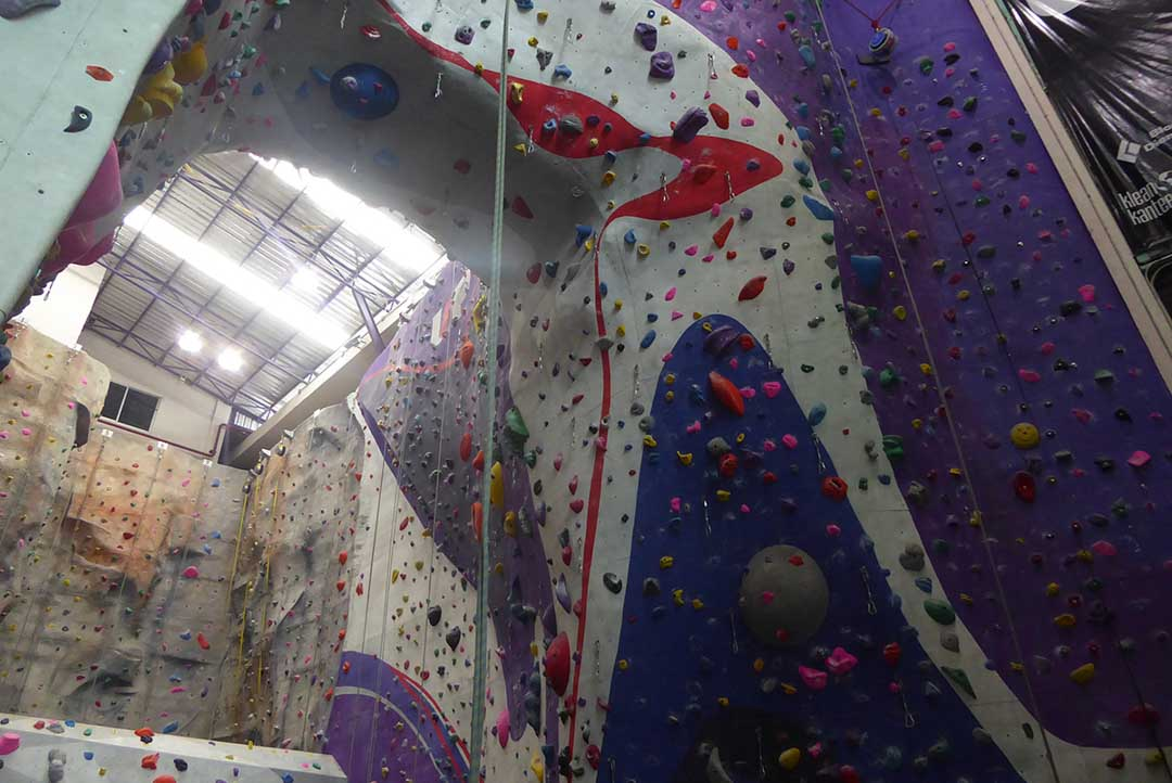 Indoor Climbing in Bangkok