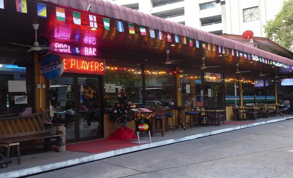 The Players Pool Bar in Bangkok