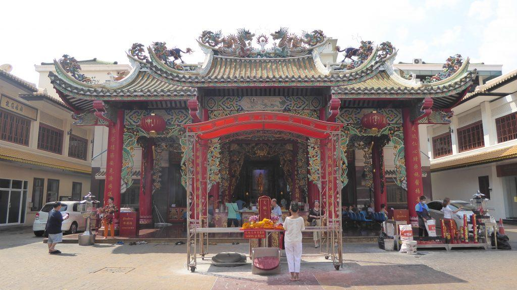 Kuan Yim Shrine Chinatown Bangkok