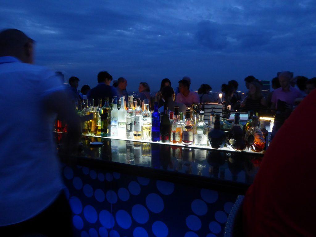 The Moon Bar at the Banyan Tree Bangkok