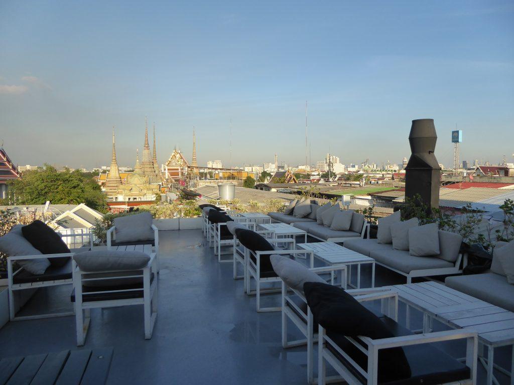The Roof at Sala Rattanakosin restaurant in Bangkok