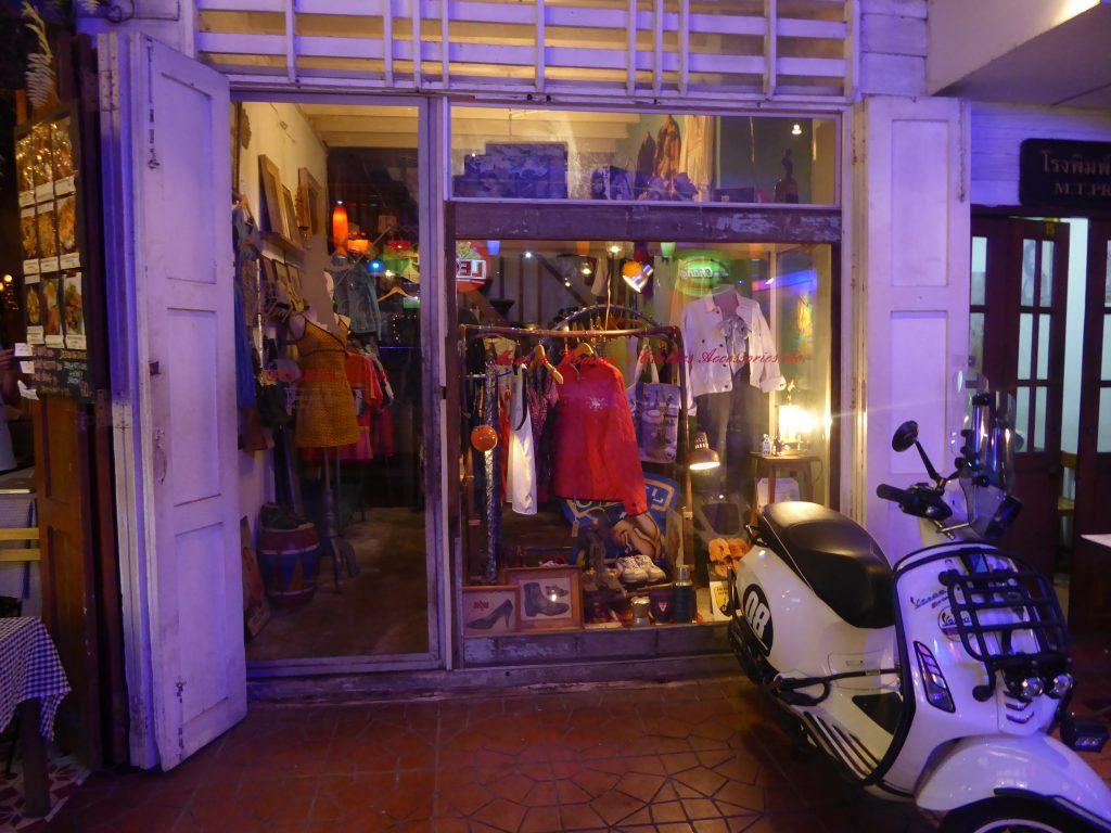Vintage Clothing & Accessories in Bangkok Khaosan Road