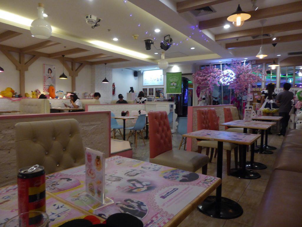 Maidreamin maid Cafe in Bangkok