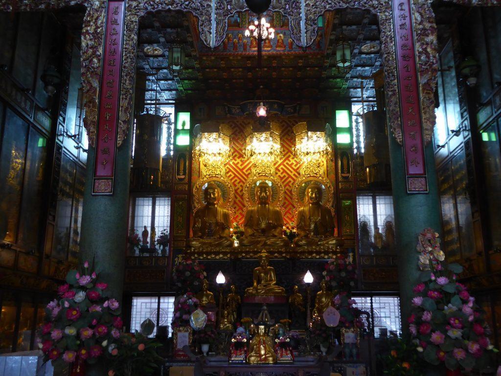 The Green Dragon Temple in Bangkok.