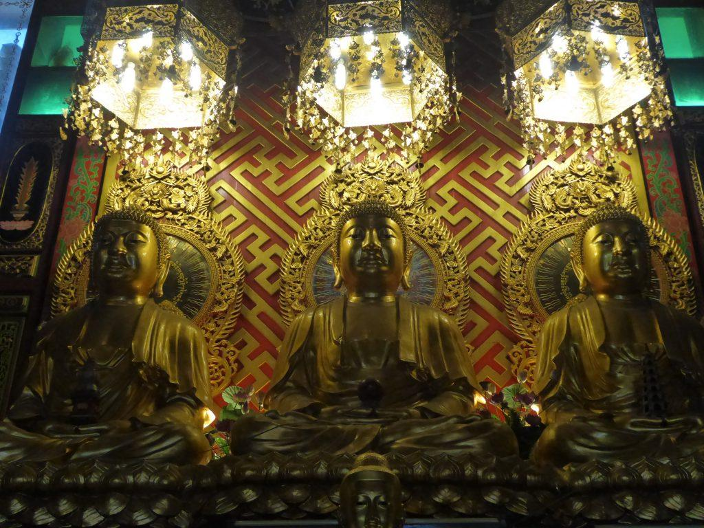 Wat Dibaya Vari Vihara Temple in Bangkok.