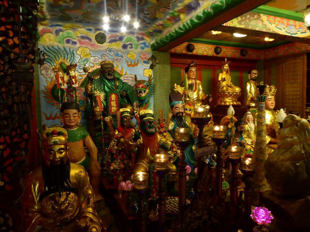 Wat Thipwariwihan Temple in Bangkok.