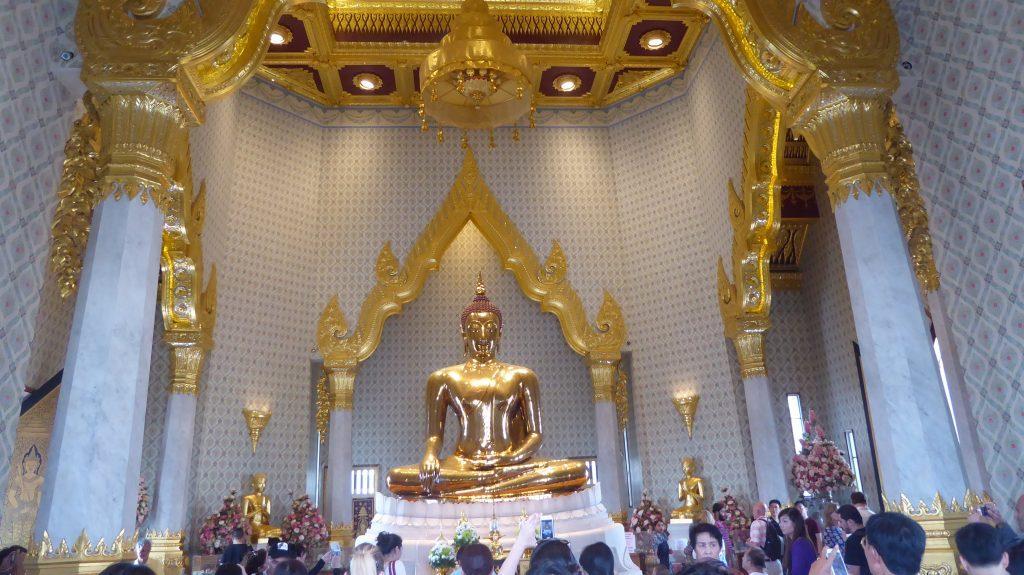 Wat Traimit,Bangkok.