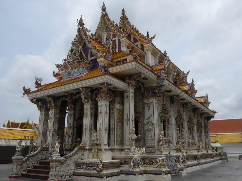 Wat Pariwat temple in Bangkok, Thailand.