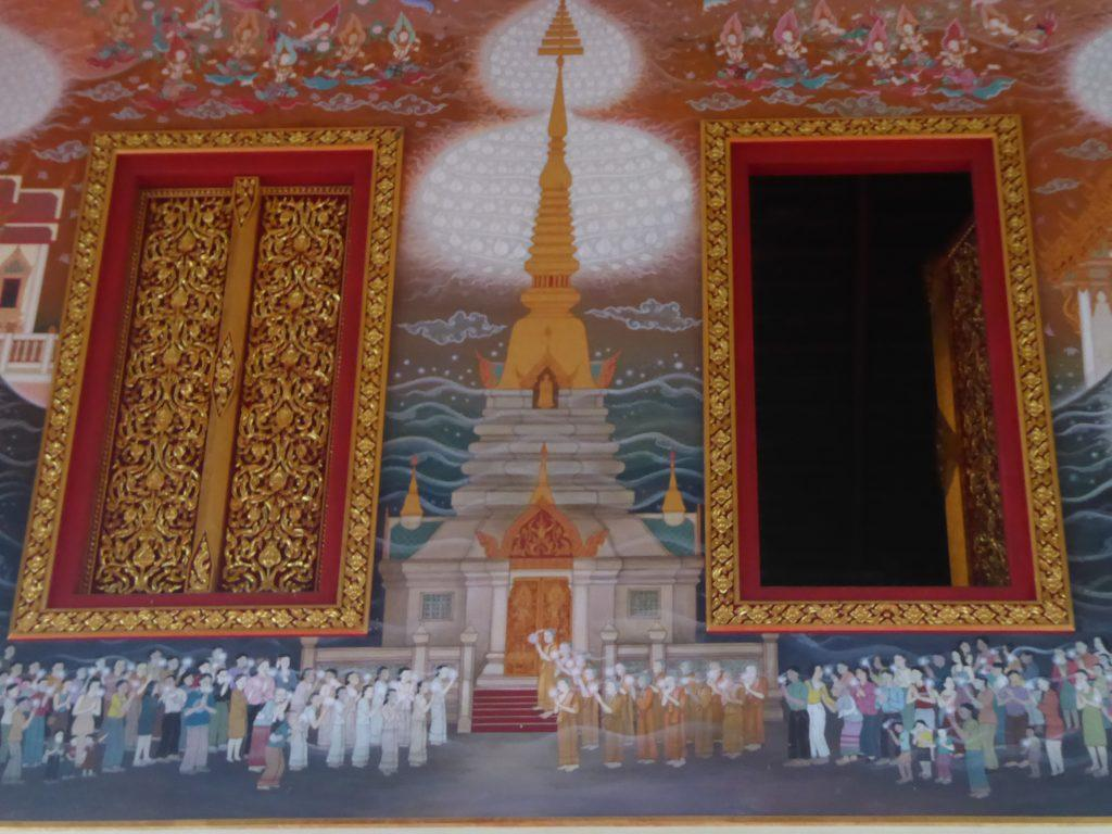 Wat Pariwas temple in Bangkok, Thailand.