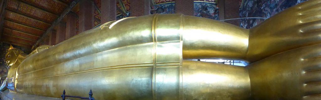 The Reclining Buddha at Wat Pho in Bangkok