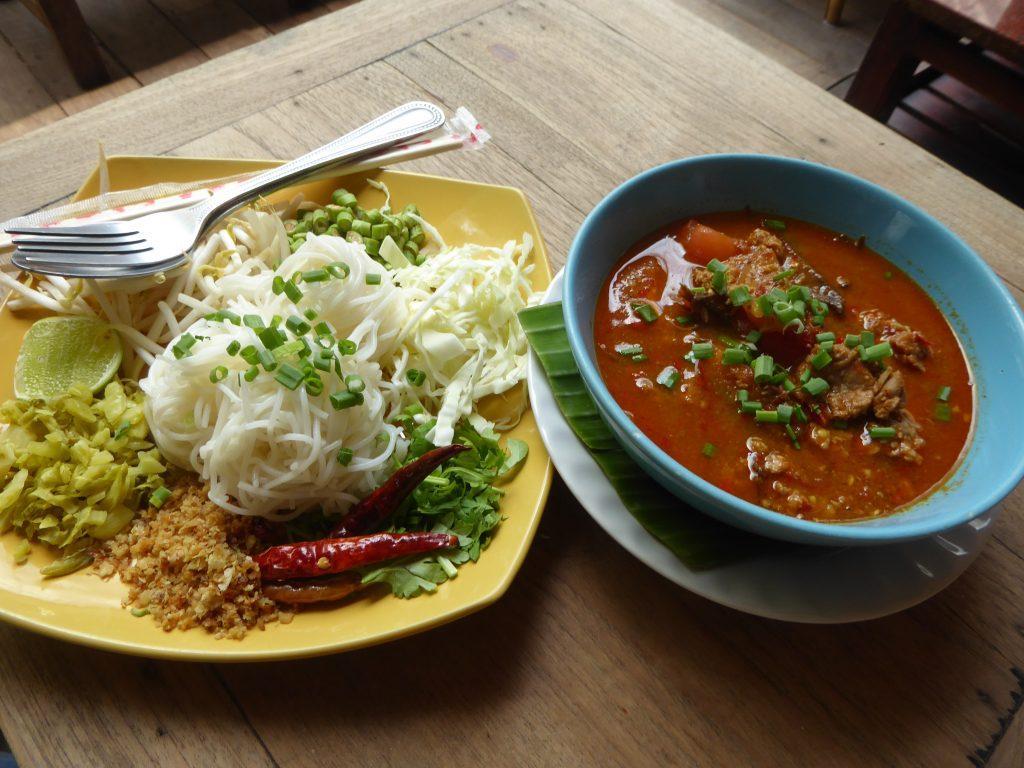 Northern Thai Cuisine in Bangkok, Thailand.