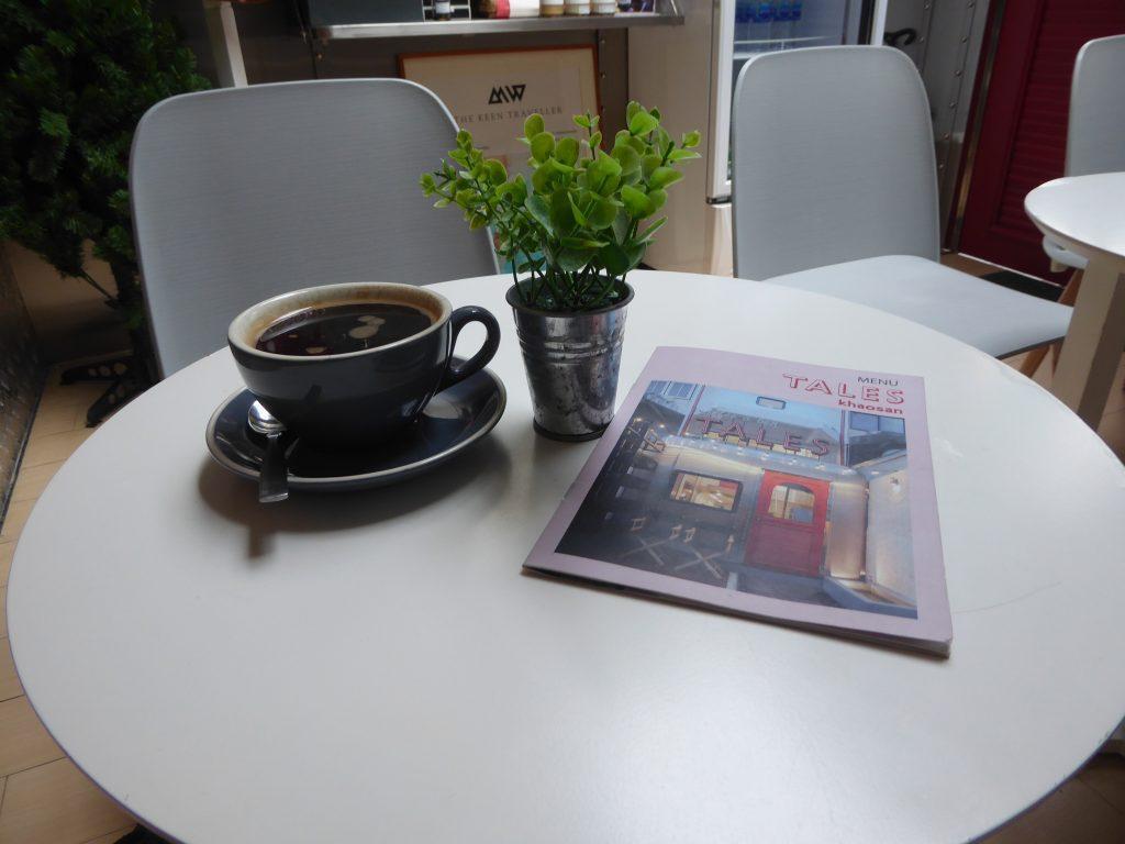 Tales Khaosan Cafe. Cafes in Bangkok