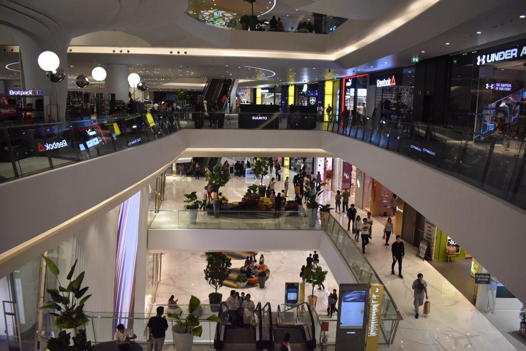 Shopping at Icon Siam in Bangkok Thailand