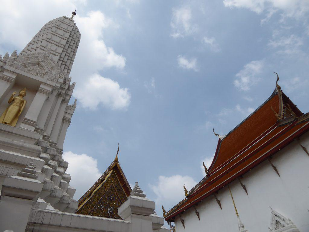 Wat Mahathat Temple in Bangkok Thailand