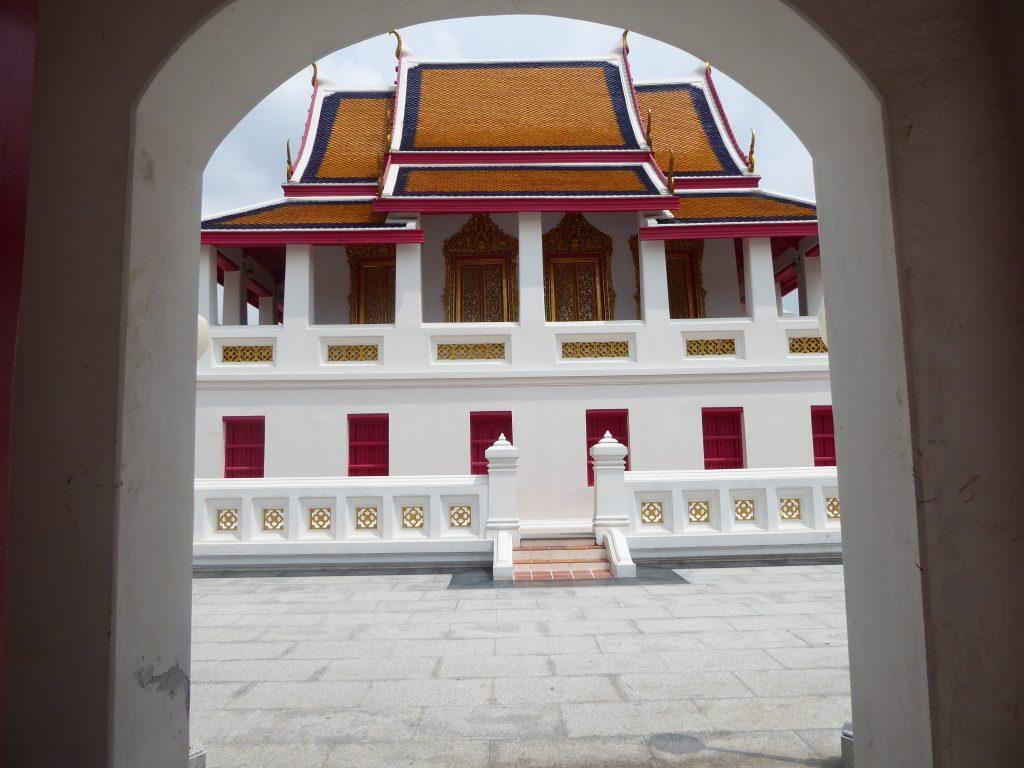 Wat Kalayanamit Temple in Bangkok Thailand