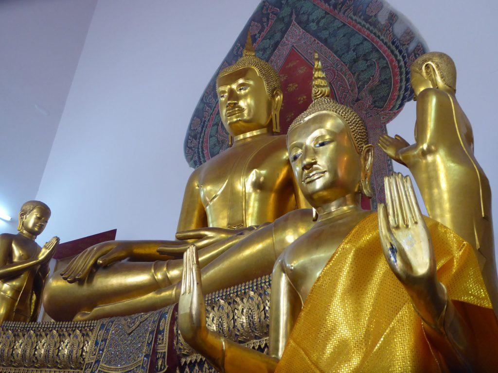 Wat Pho Temple in Bangkok Thailand