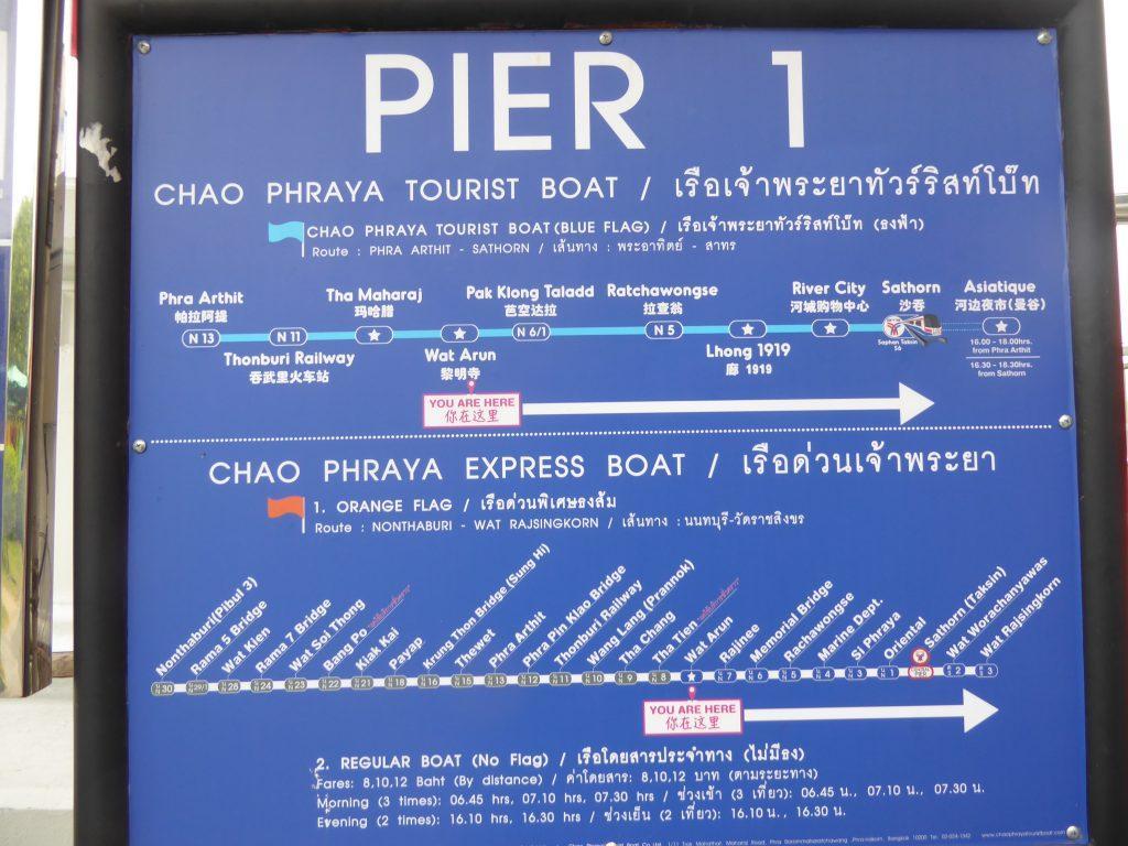 Chao Phraya Express Boat Bangkok