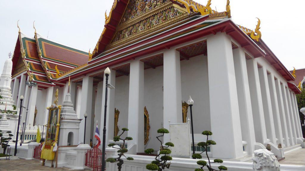 Wat Prayoon Temple in Bangkok Thailand