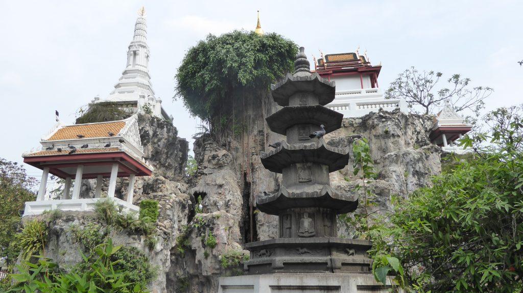 Khao Mo at Wat Prayoon temple in Bangkok Thailand