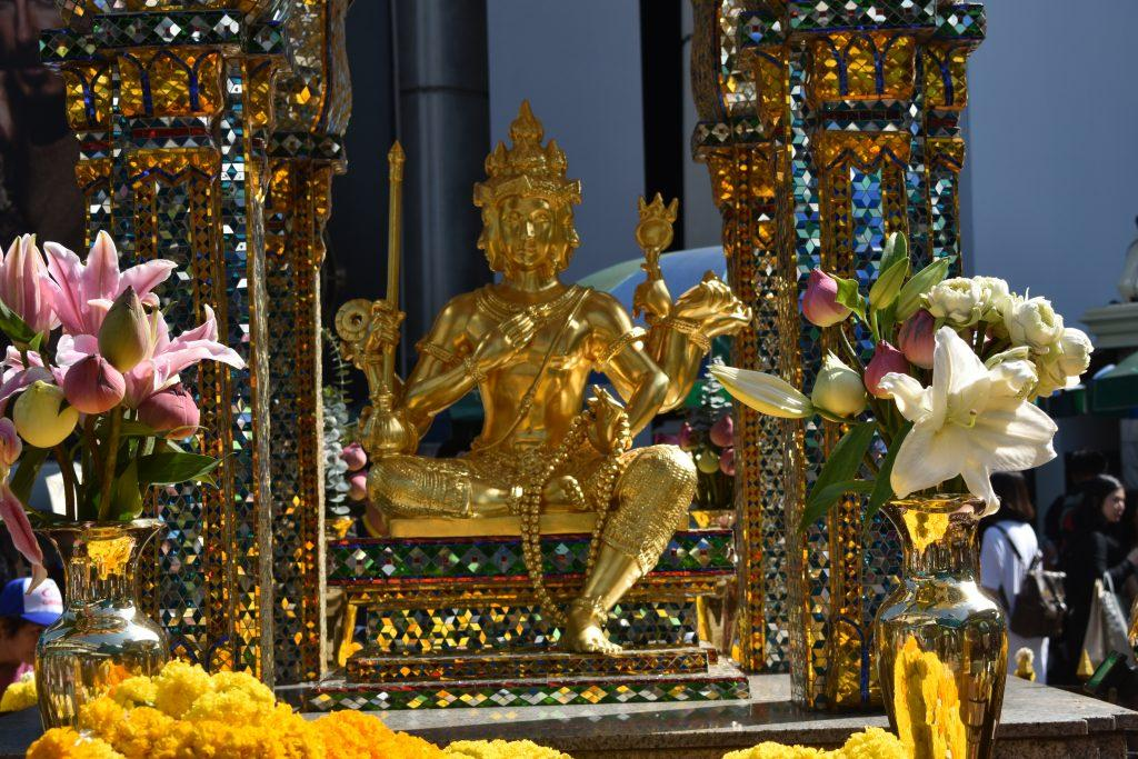 The Erawan Shrine in Bangkok