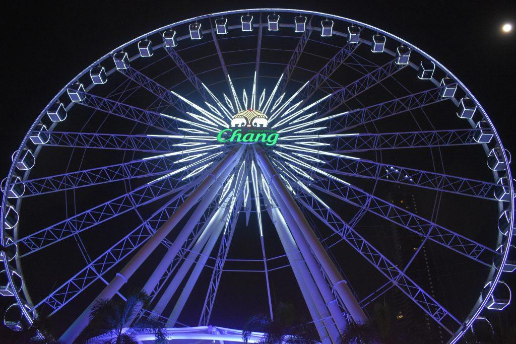 The Ferris Wheel at Asiatique in Bangkok Thailand