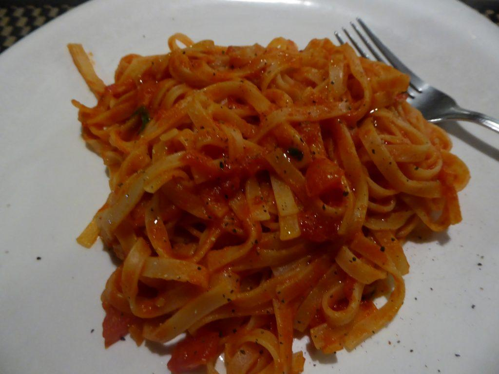 Vegetarian Pasta in Bangkok