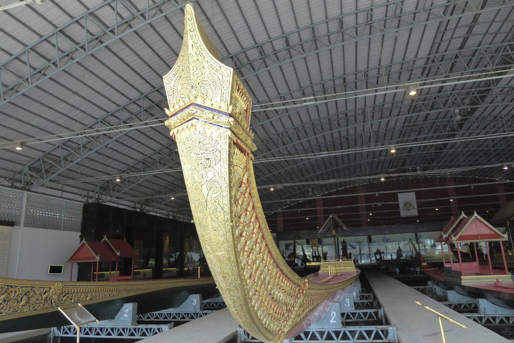 The Royal Barge Museum in Bangkok