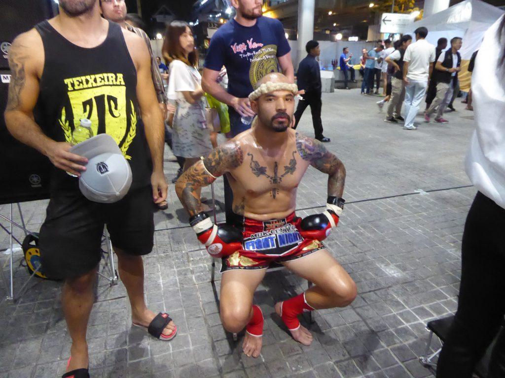A Muay Thai Fighter in Bangkok