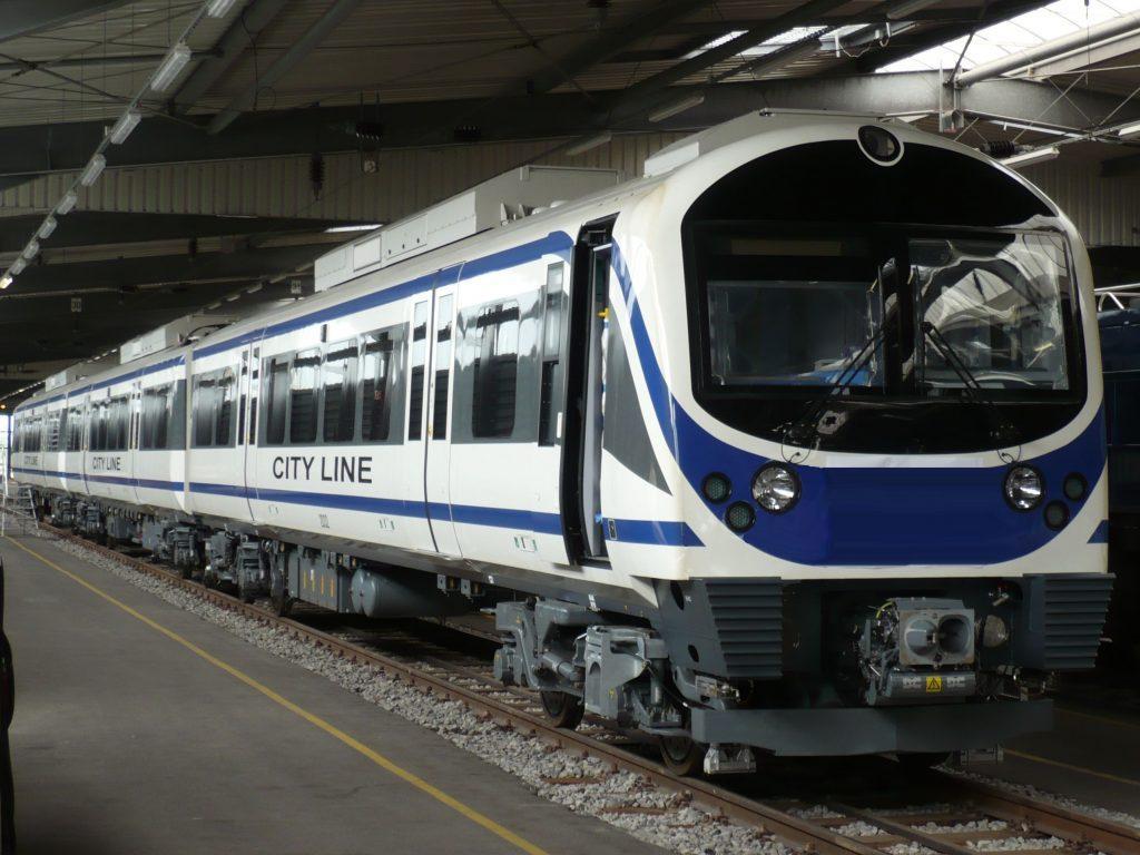Airport Rail Link Train in Bangkok