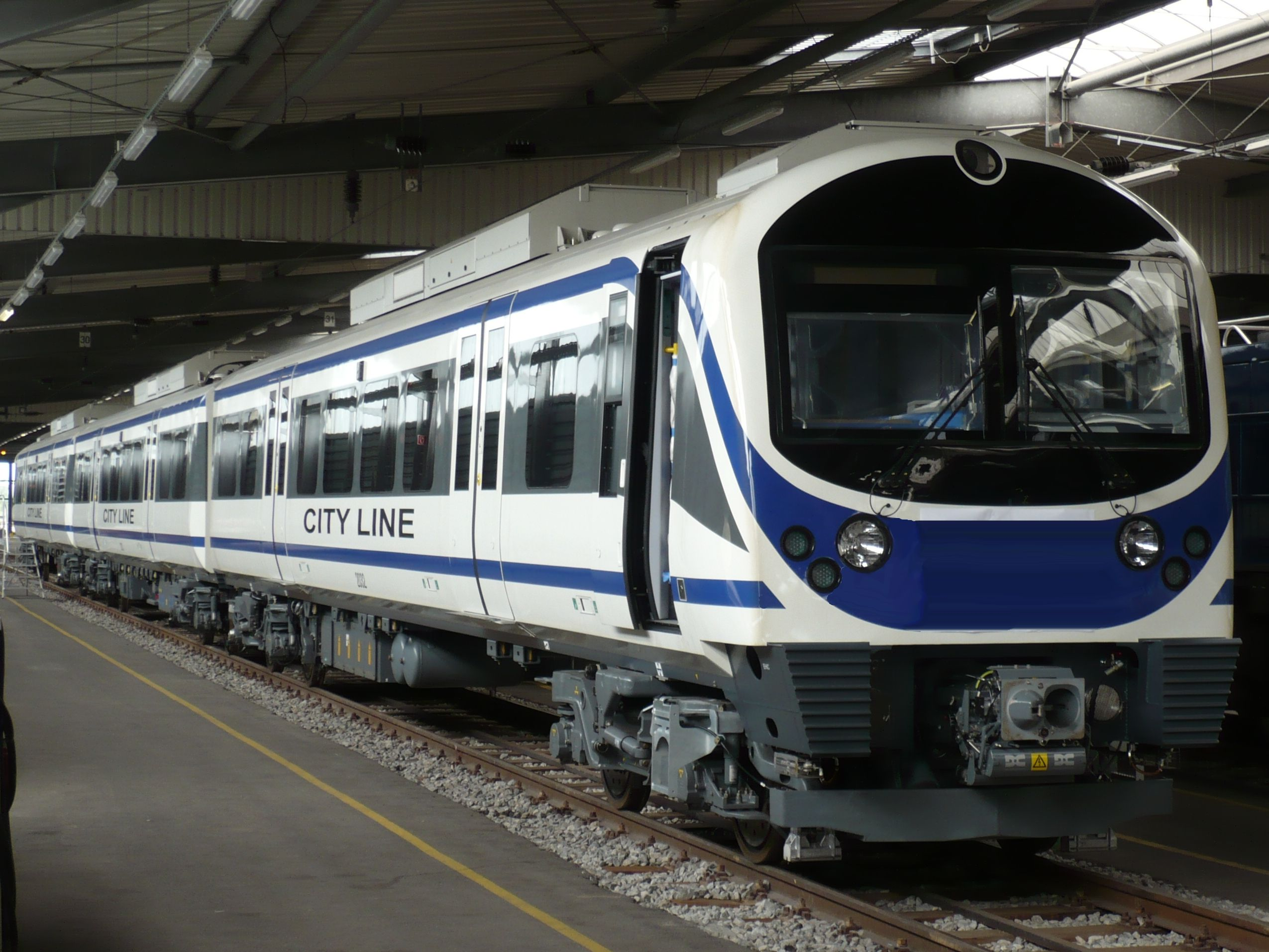 Airport Rail Link Train in Bangkok