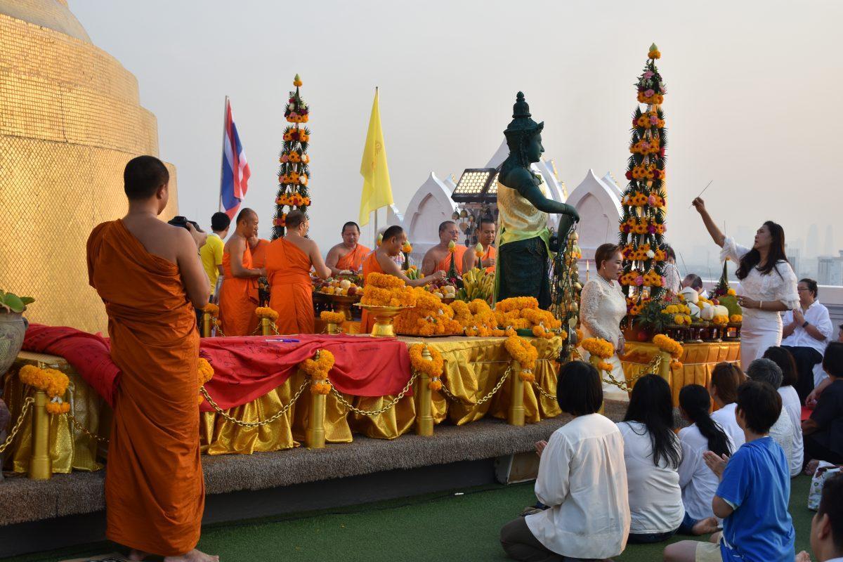 Wat Saket Temple in Bangkok