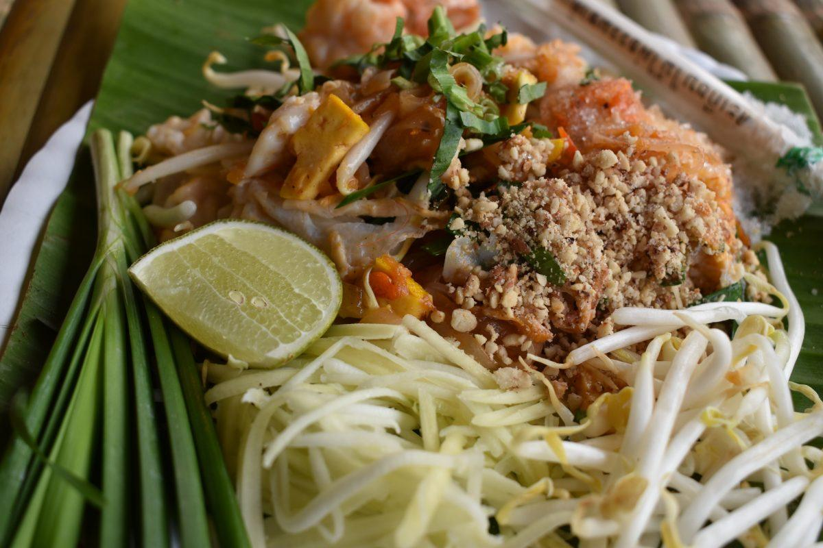 Pad Thai at Wai Kru Muay Thai ceremony 2019