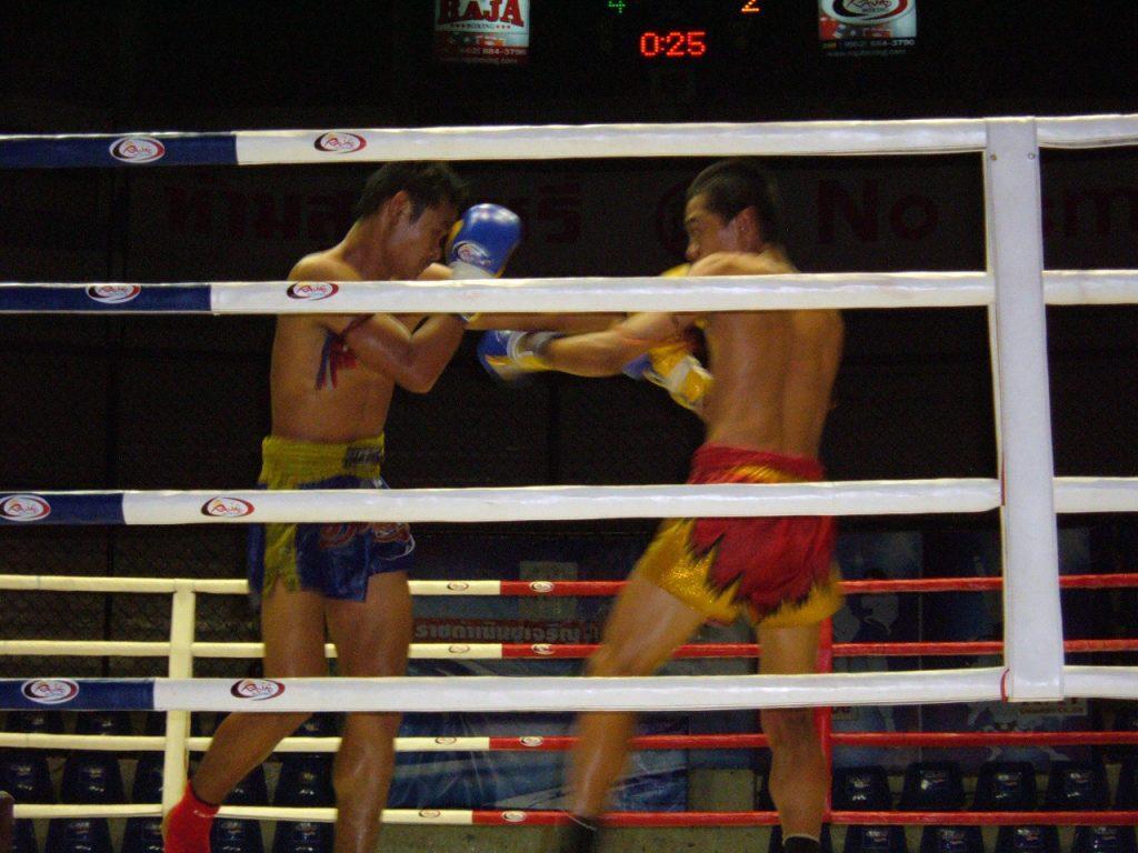 Rajadamnern Stadium in Bangkok