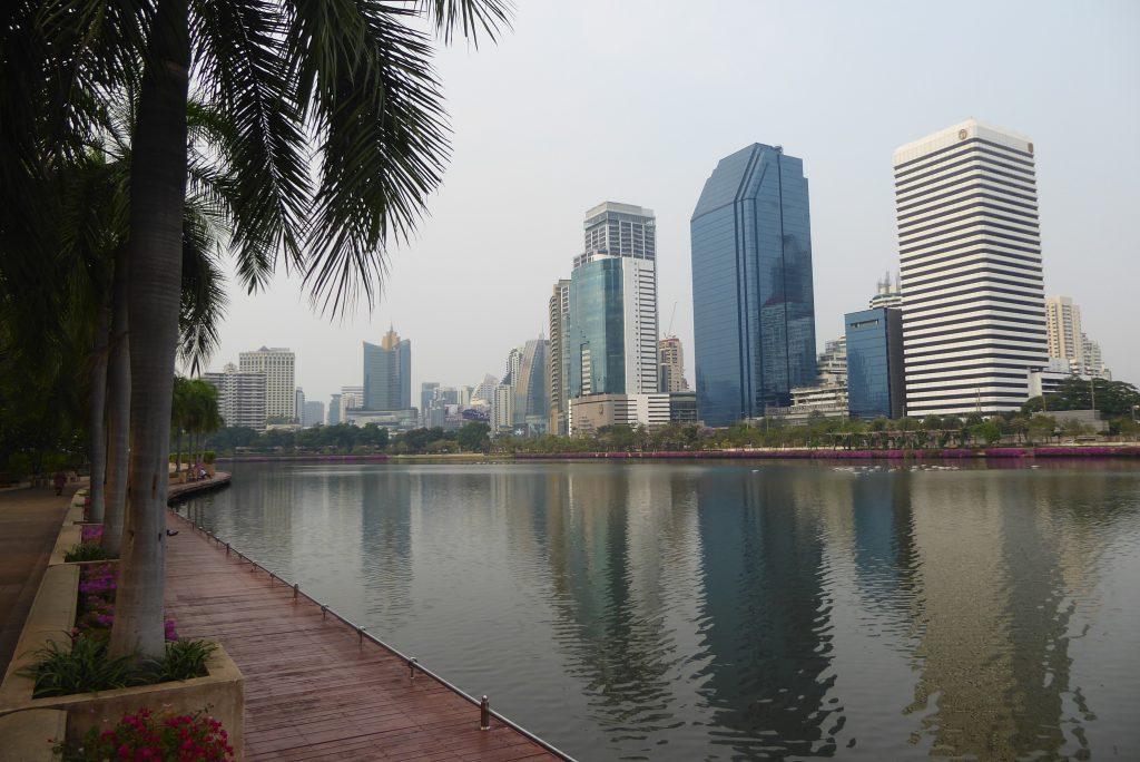 Benjakiti Park in Bangkok