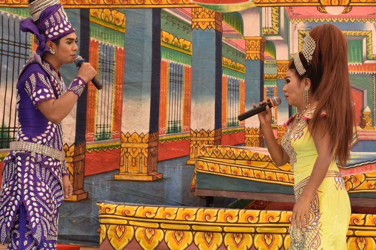 likay show in sukhothai