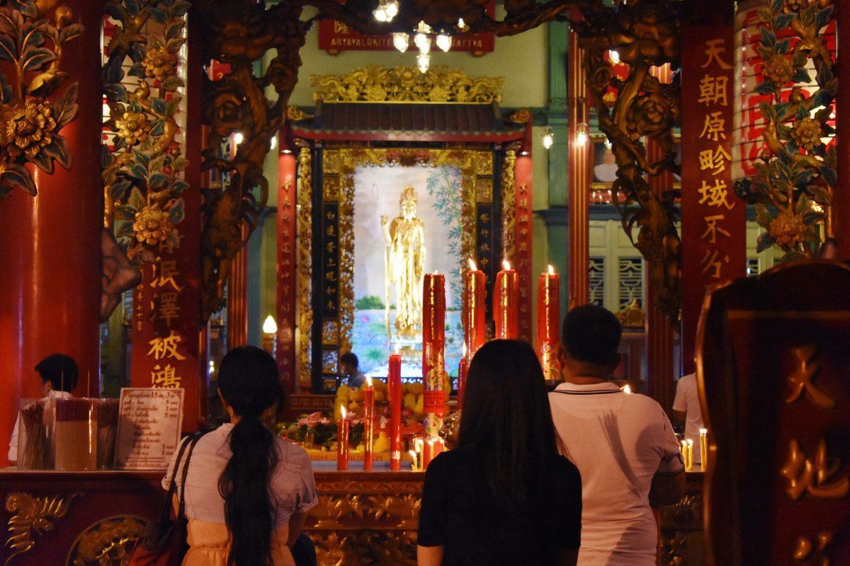 Kuan Yim Shrine in Bangkok
