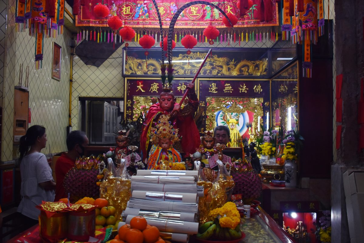 The Monkey God Shrine in Bangkok