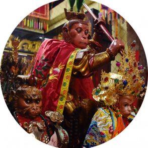 Tai Sia Huk Chou Shrine in Bangkok