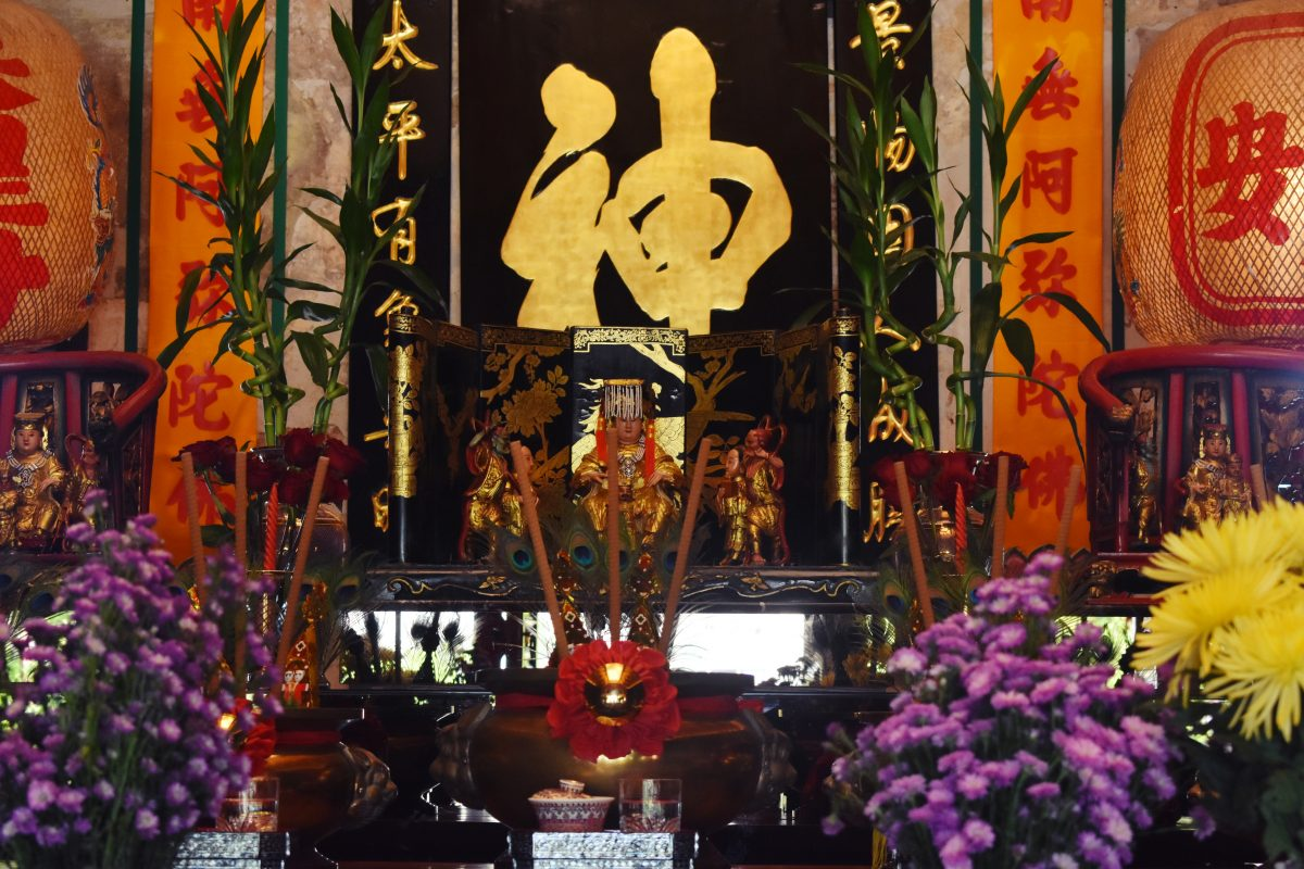 Mazu Shrine in Bangkok