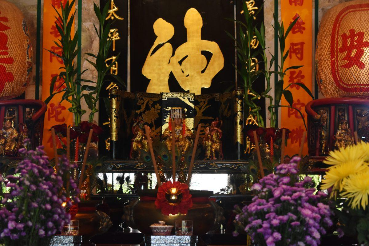 The Mazu Shrine in Bangkok