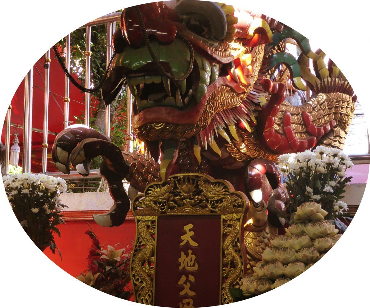 The Tiger God Shrine in Bangkok