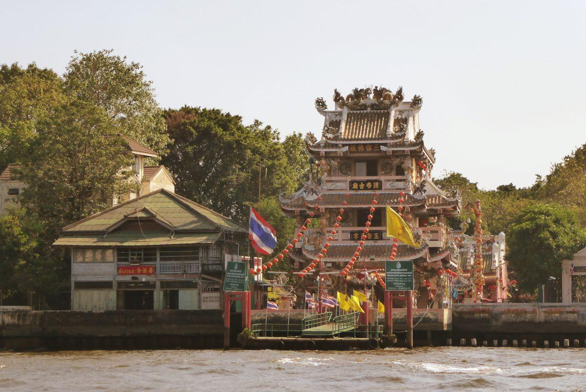 Chinese Pagoda in Bangkok