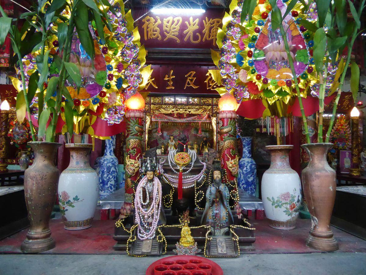 Leng Buai la Shrine in Bangkok