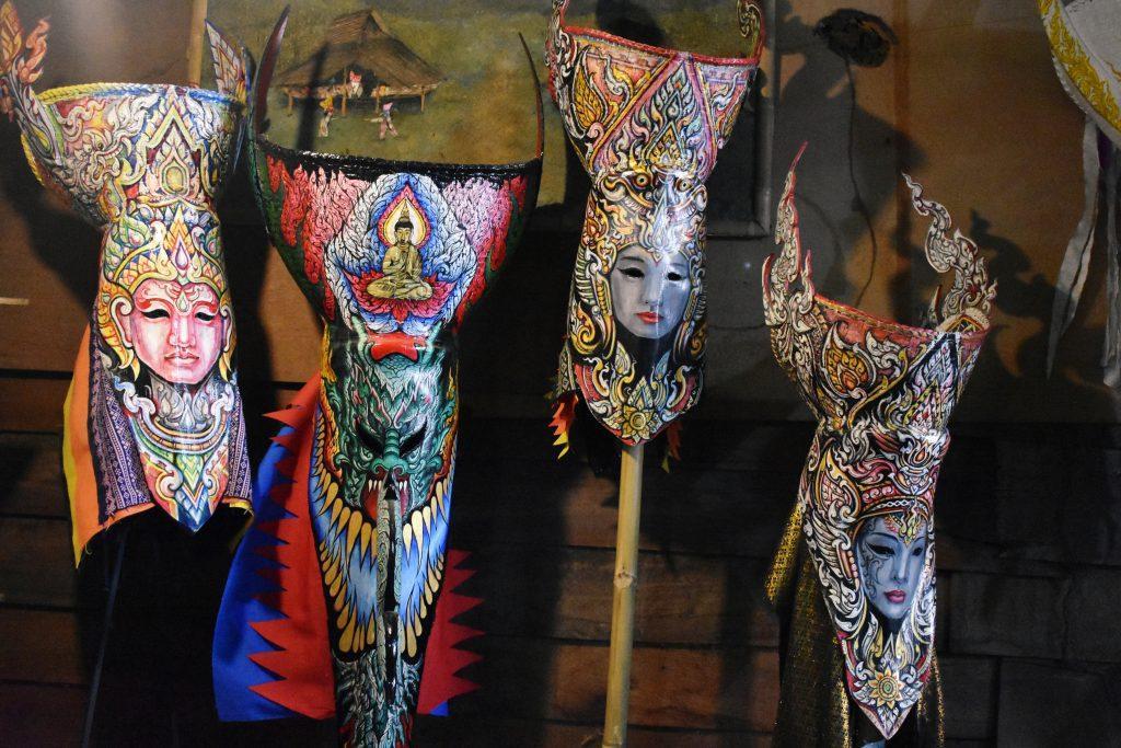 Phi Ta Khon Masks