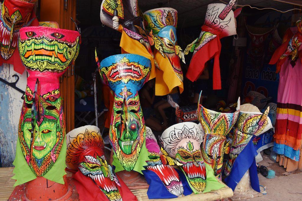 Phi Ta Khon Mask