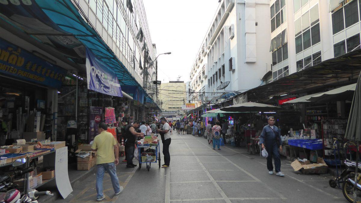A Market in Chinatown Bangkok