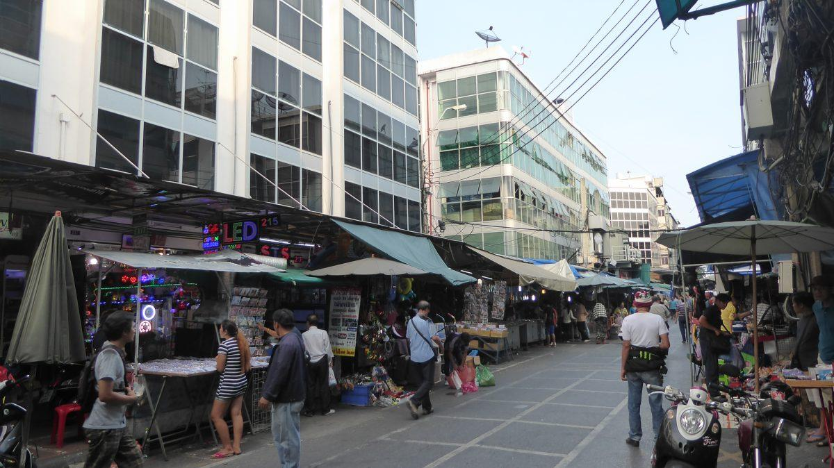 A Street Market in Chinatown Bangkok