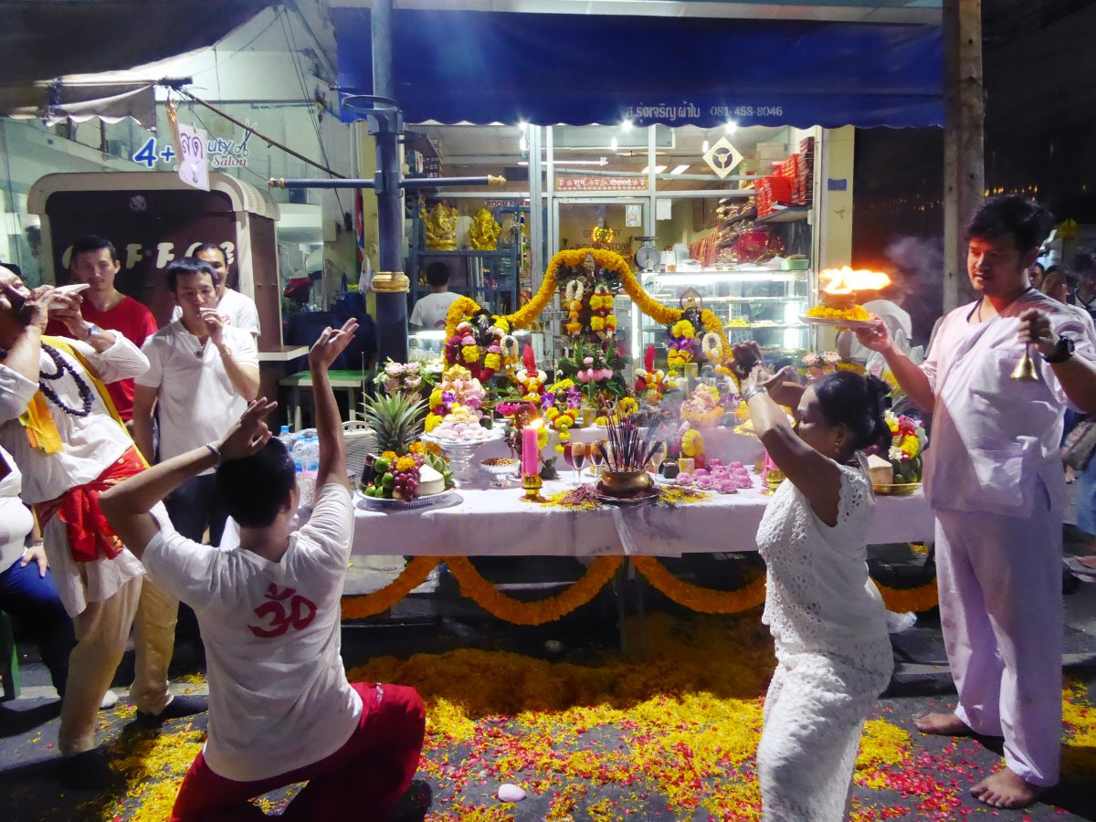 Navaratri Festival at Sri Maha Mariamman temple in Bangkok